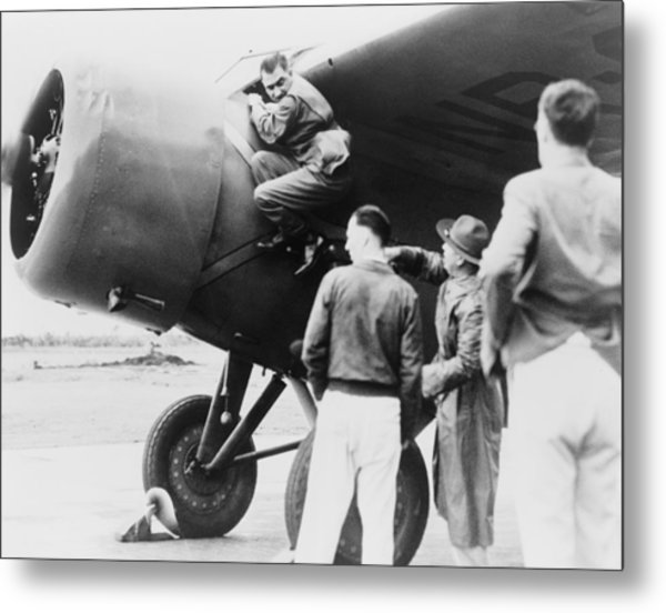 Paul Mantz, Stunt Pilot And Air Racer Metal Print