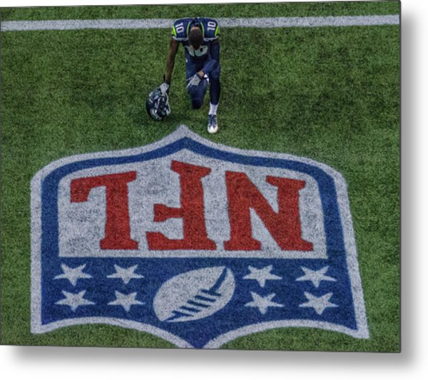 Paul Richarson Nfl Metal Print
