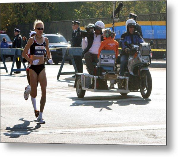 Paula Radcliffe 2007 Ing Nyc Marathon 2 Metal Print