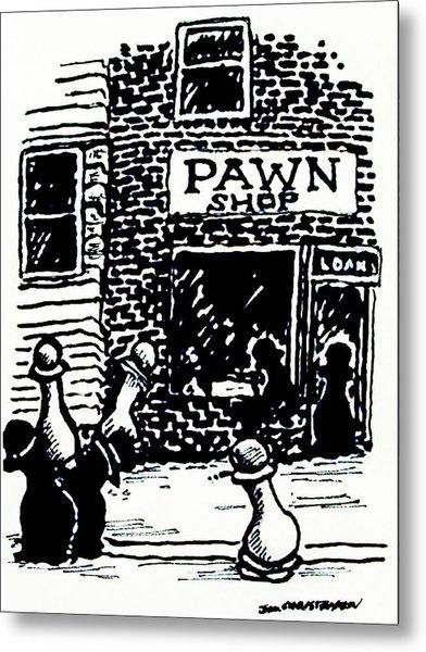 Pawn Shop Metal Print by James Christiansen