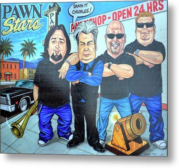 Pawn Stars In Las Vegas Metal Print