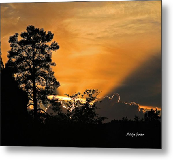 Payson Sunset Metal Print