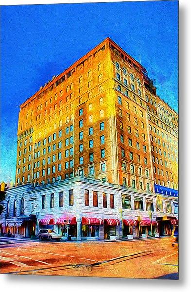 Peabody Hotel - Memphis Metal Print