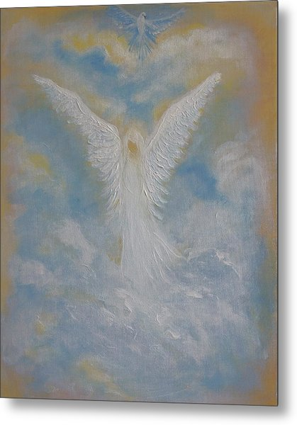 Peace From An Angel  Metal Print