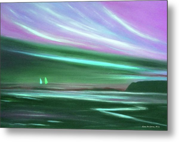 Peace Is Colorful 3 Metal Print