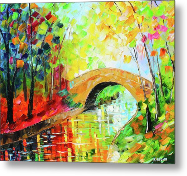 Metal Print featuring the painting Peace  by Kevin Brown