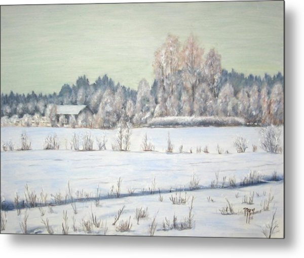 Peace Of The Winter Metal Print by Maren Jeskanen