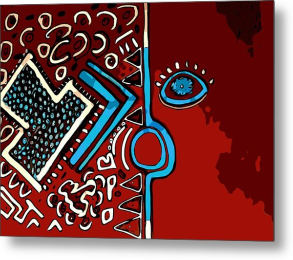 Peace Pipe Metal Print