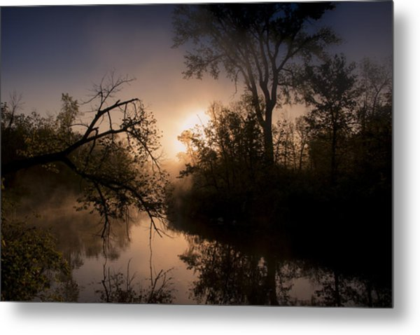 Peaceful Calm Metal Print