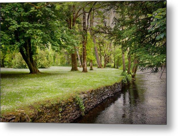 Peaceful Ireland Landscape Metal Print
