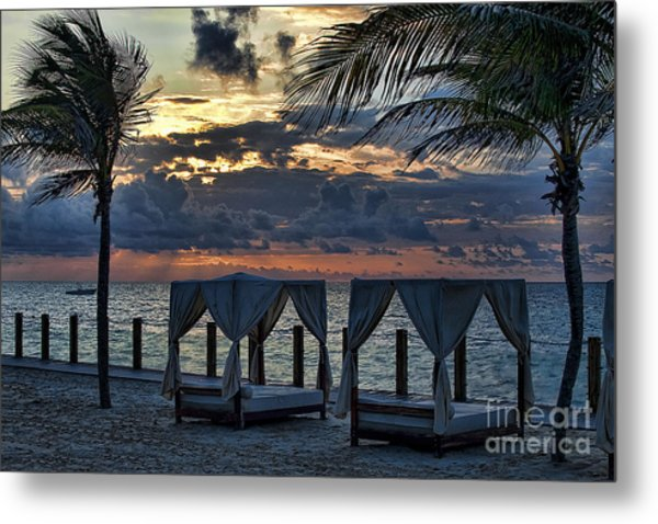 Peaceful Playa Metal Print