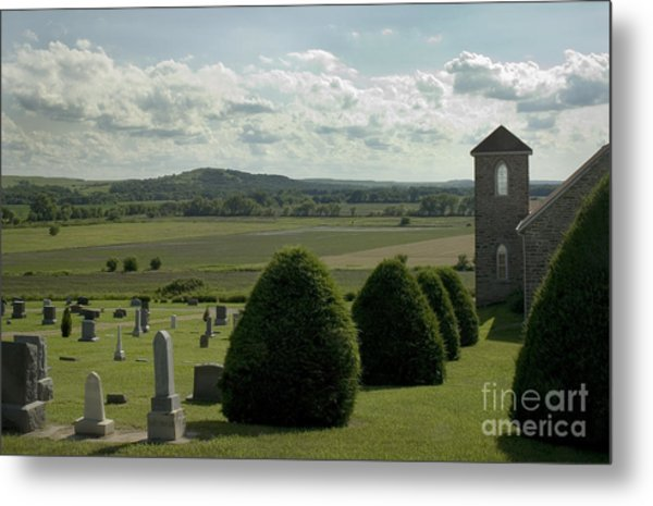 Peaceful View Metal Print