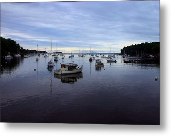Peaceful Waters Metal Print by Dennis Curry