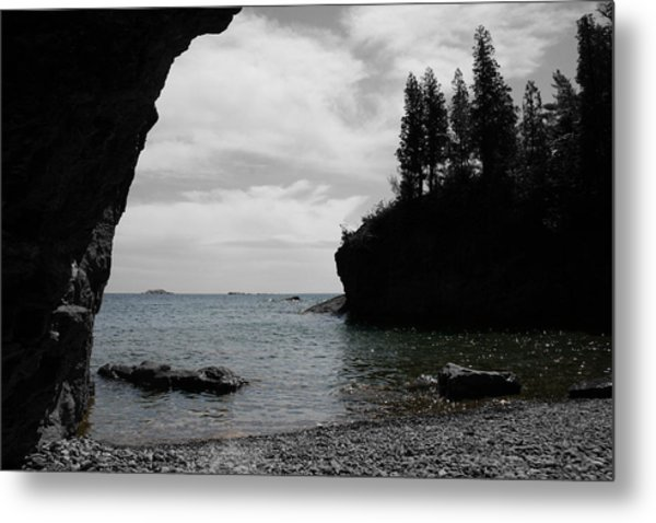 Peaceful Waters Metal Print