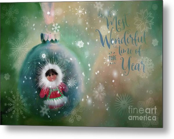 Peace,love,joy Metal Print