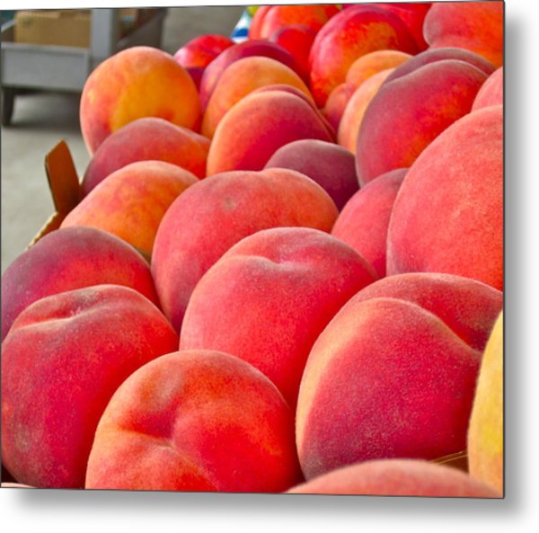 Peaches For Sale Metal Print