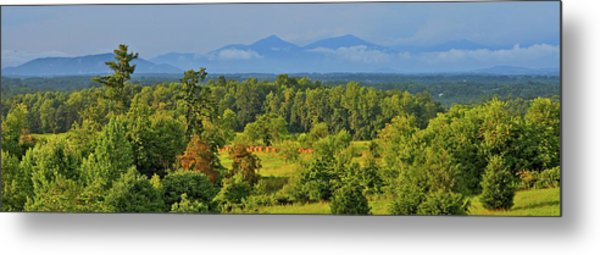 Peaks Of Otter After The Rain Metal Print