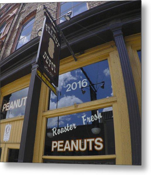 Peanut Depot Metal Print