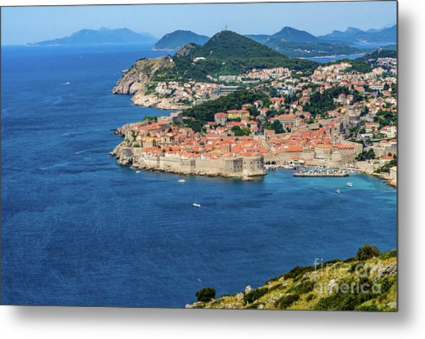 Pearl Of The Adriatic, Dubrovnik, Known As Kings Landing In Game Of Thrones, Dubrovnik, Croatia Metal Print