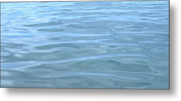 Pearlescent Tranquility Metal Print