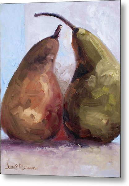 Pears Two Metal Print