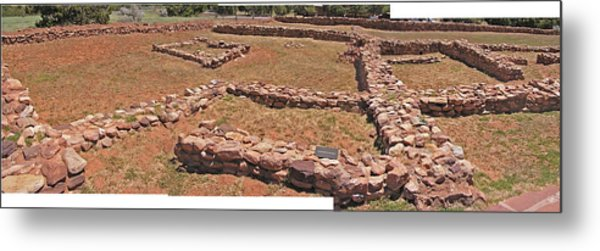 Pecos National Monument - 3 Metal Print by Randy Muir
