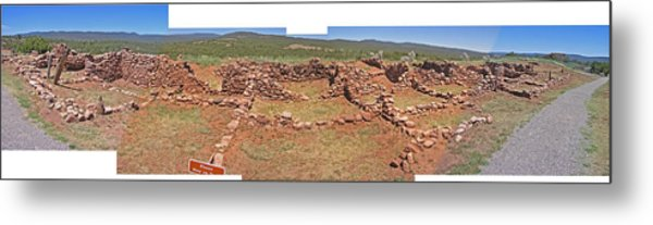 Pecos National Monument - 4 Metal Print by Randy Muir