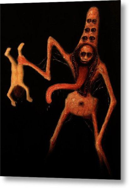 Violator Of Innocence - Artwork Metal Print