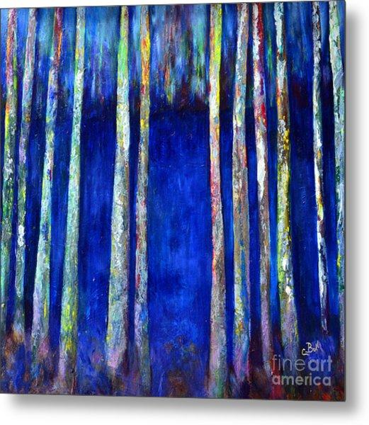 Peeking Through The Trees Metal Print