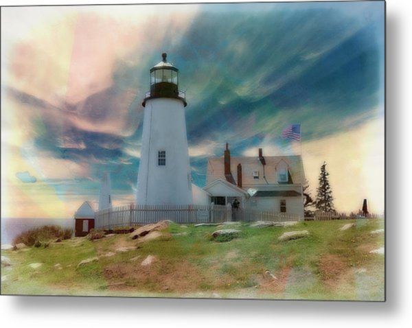 Pemaquid Lighthouse,maine Metal Print