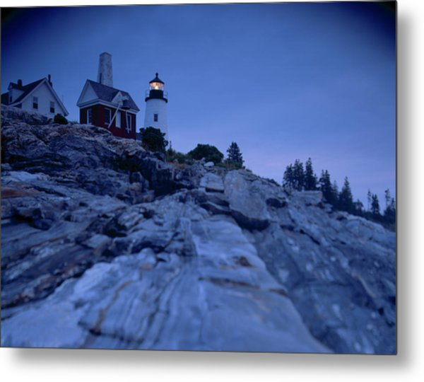 Pemaquid Pt. Light Metal Print