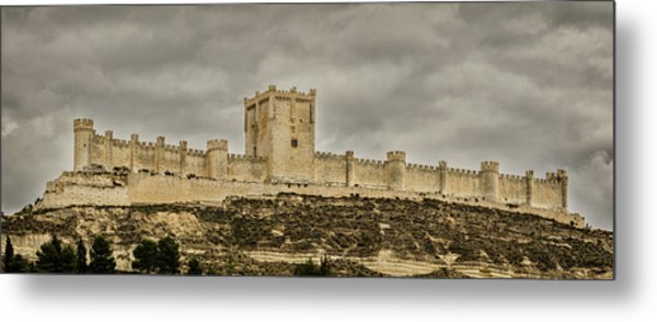 Penafiel Castle, Spain. Metal Print