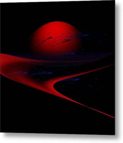 Penman Original-347 Cosmic Curve Metal Print