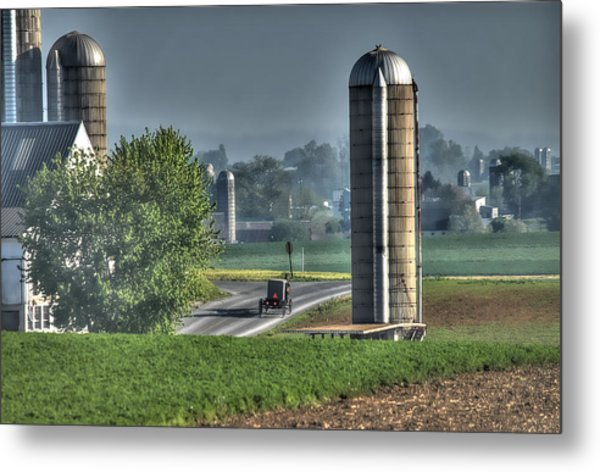 Pennsylvania - Amish Country  Metal Print