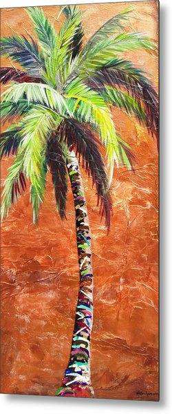 Penny Palm Metal Print