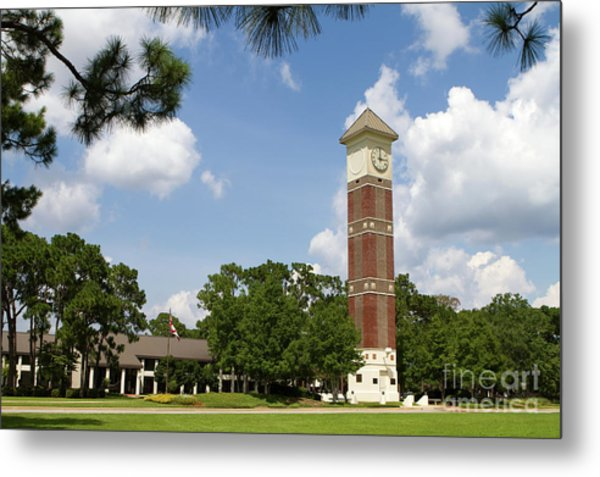 Metal Print featuring the photograph Pensacola State College by Steven Frame