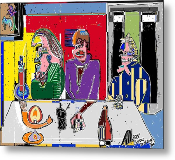 People Places Parties Politics 2008 Metal Print by Michael OKeefe