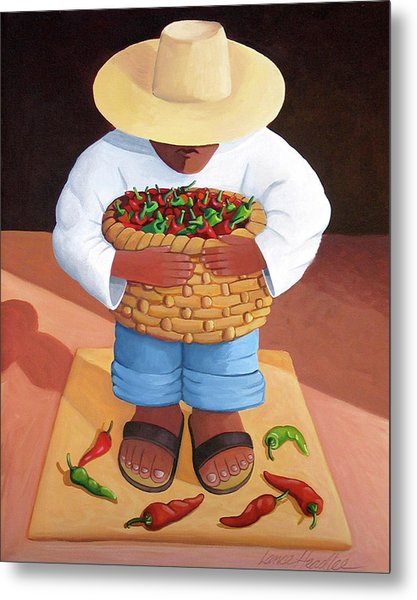 Pepper Boy Metal Print