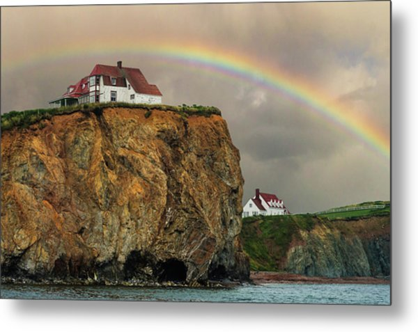 Perce Rainbow Metal Print