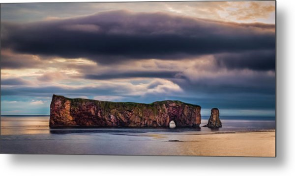 Perce Sunrise Metal Print