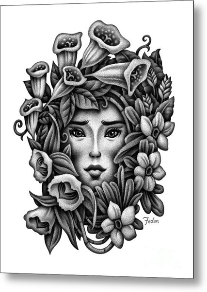 Perception Of Beauty Metal Print by David Fedan