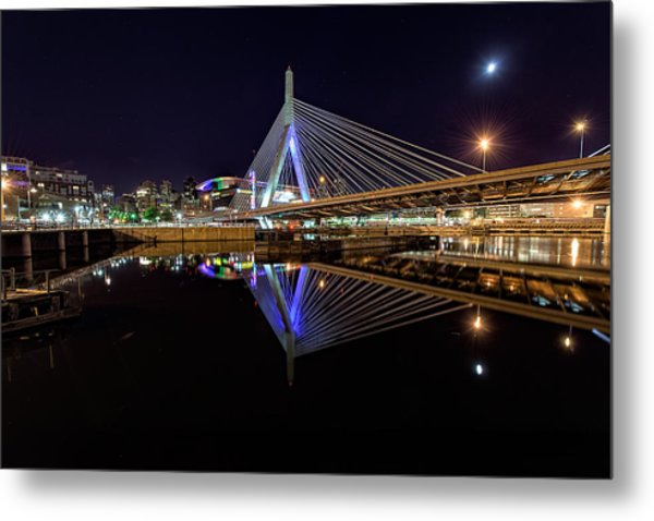Perfect Reflection Metal Print
