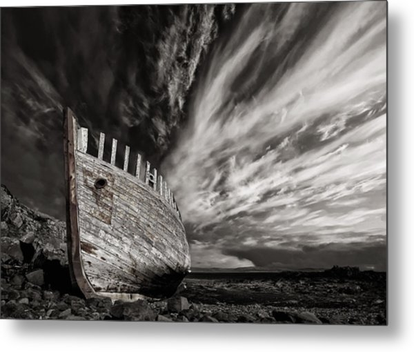 Permanent Place Metal Print