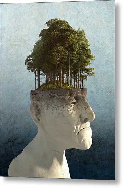 Personal Growth Metal Print
