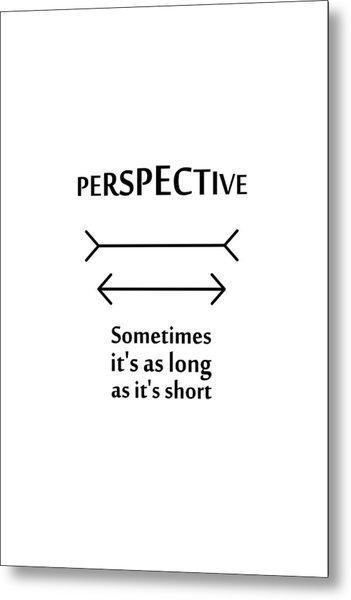 Perspective Metal Print