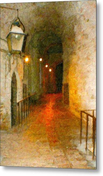 Perugia Grotto 1 Metal Print