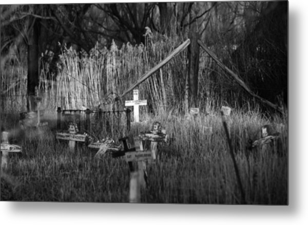 Pet Cemetery Metal Print