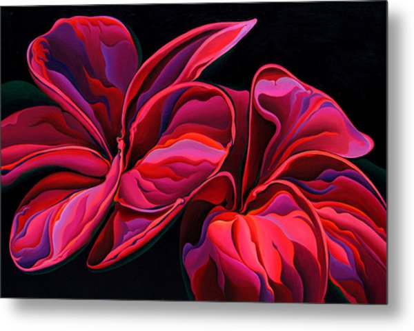 Petal Pageant  Metal Print