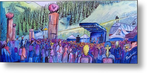 Peter Rowen At Copper Mountain Metal Print