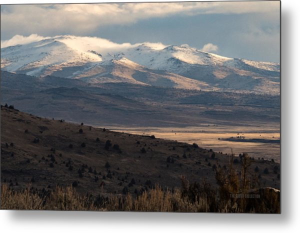 Pete's Valley At Dawn Metal Print